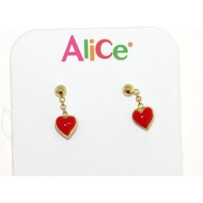 Orecchini bimba in oro Alice e Alex AA7
