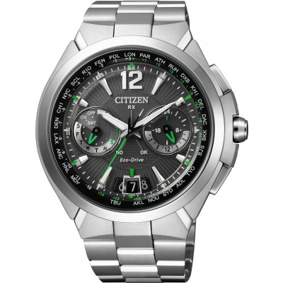 Citizen satellite wave cc1090-52f in acciaio