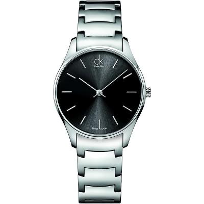 Calvin Klein orologio donna classic medio k4d22141 nero