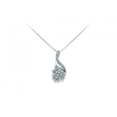 Miluna collana oro e diamanti CLD3306