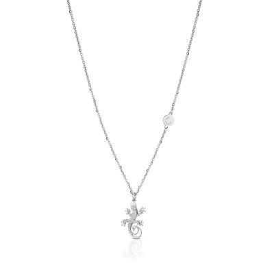Collana con pendente geco di Roberto Giannotti in argento GEA101