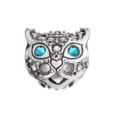 Chamilia charm kotya cat gatto in argento