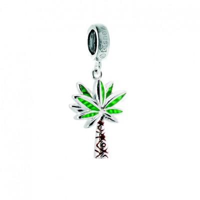 "Chamilia disney charm ""vaiana"" island palm 2020-0965"