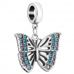 Chamilia charm rainforest butterfly 2025-2234