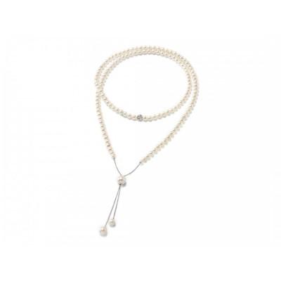 Miluna collana di perle Miss Italia  pcl5426